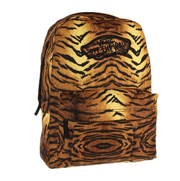 Vans – Tiger Print Backpack